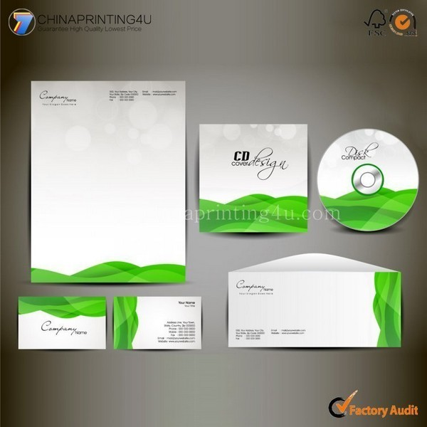 Custom Cheap Supermarket Envelop/Letterhead Printing In China