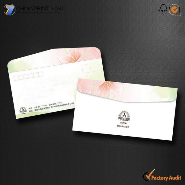 China Factory Cheap Printing Envelop High Quality Custom