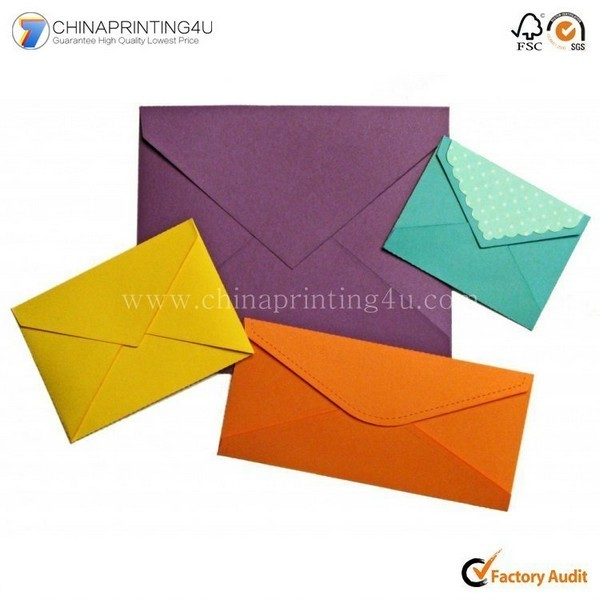 China Printer Design High Quality Envelop Printing Custom