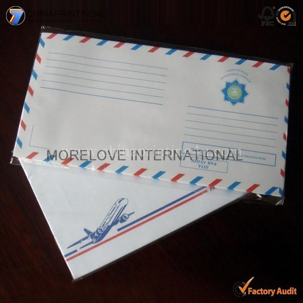 China Professional Envelop Printing High Quality Customized