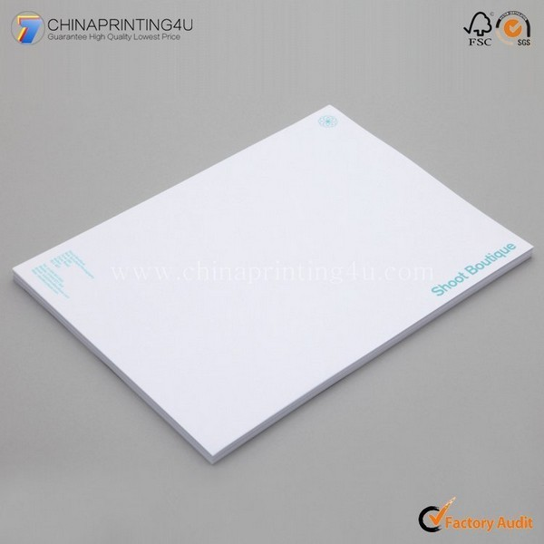 Customized High Quality Letterhead Printing Low Cost