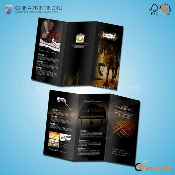 Chinese Supplier Paper Flyer Leaflet Poster Printing