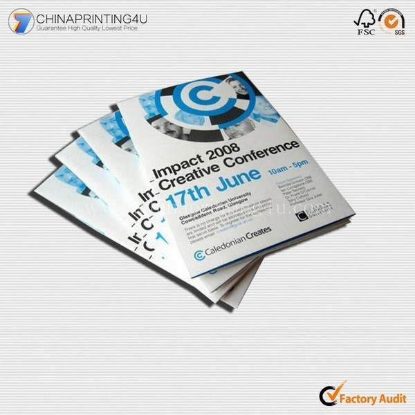 Custom Design Top Quality Product Catalogue Leaflet Printing