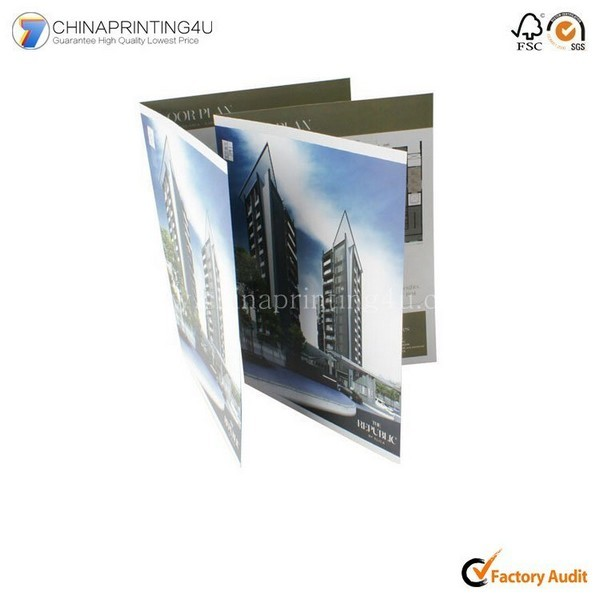 High Quality Printing Colorful Leaflet In China