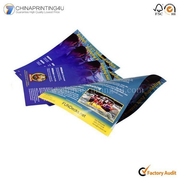 Cheap Price Leaflet Printing With CMYK Printing China