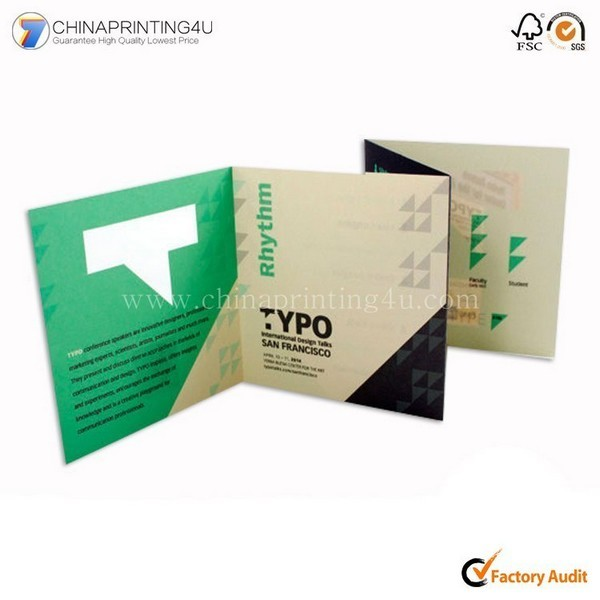 Printing Service Fancy Paper Flyer Booklet Brochure