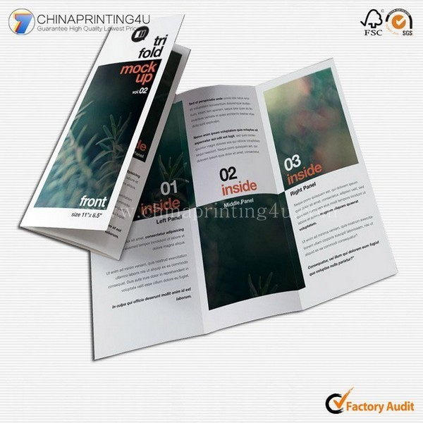 Factory Price Commercial Leaflet Printing Flyer Printing