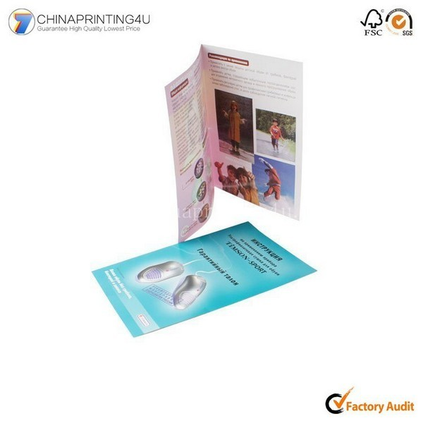 High Quality Custom Leaflet Brochure Printing In China