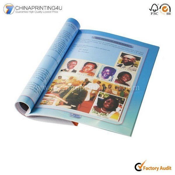 A5 Custom Printing Paper Cheap Full Color Manual