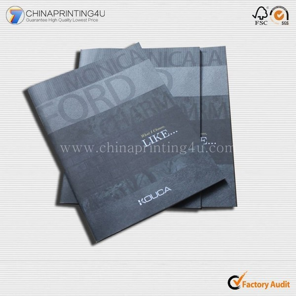 China Company Customized Good Quality Printing Booklets