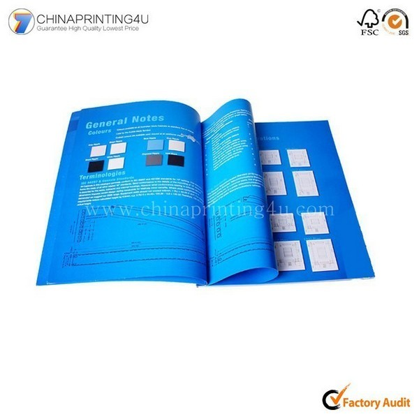 Custom Manual Printing Mini Booklet Printing In China