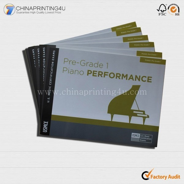 Custom Company Products Manual Printing With Low Cost