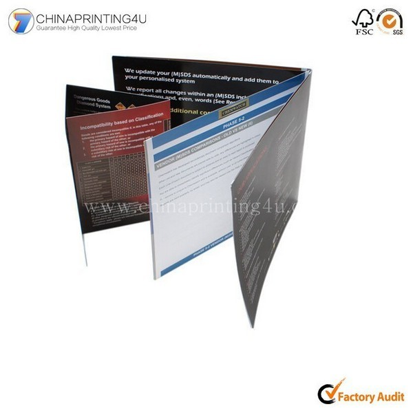 Printing Factory Design Full Color Manual Printing
