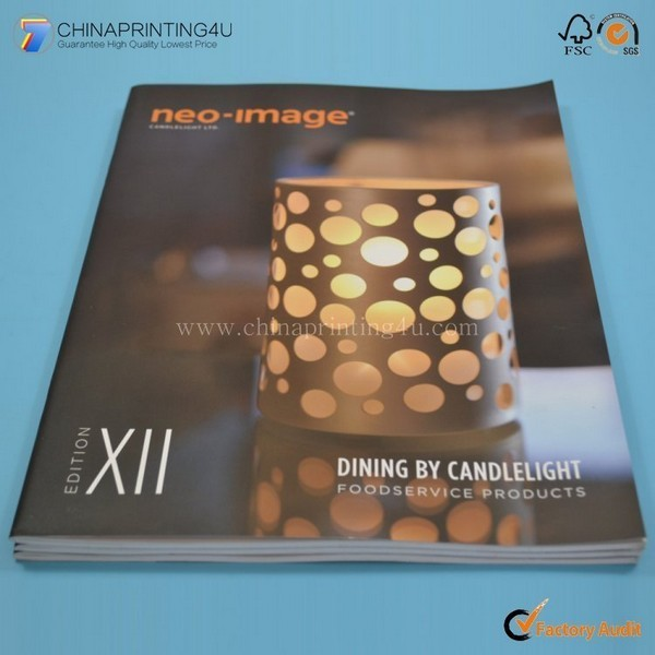 Cheap Custom High Quality Factory Printing Catalog In China