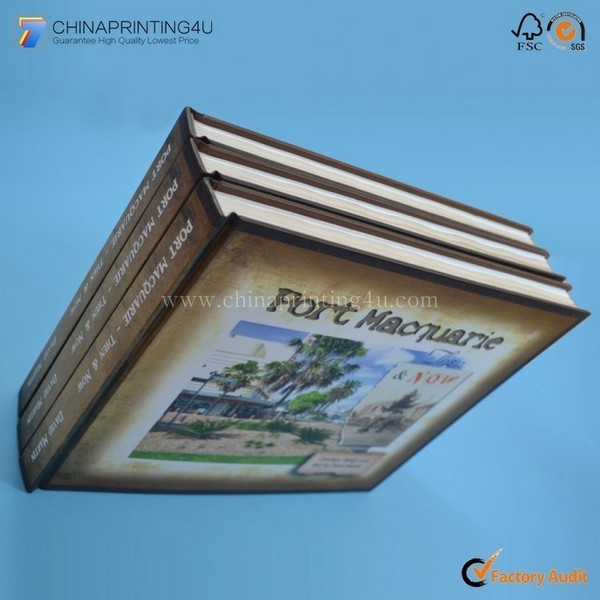 Custom All Size Cover Laminated Hardcover Book Printing China