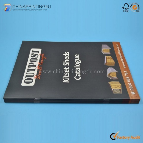 Factory OEM Colourful Catalog Printing With Low Cost