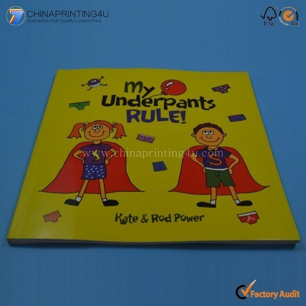 Custom Design High Quality Children Book Printing In China