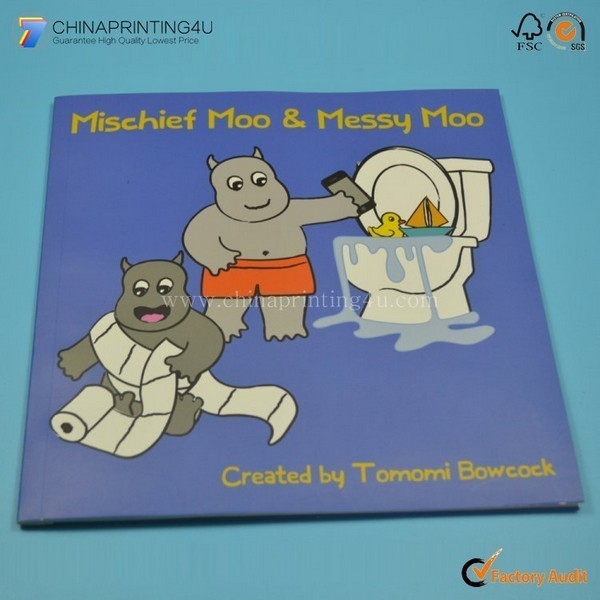 High Quality Factory Printing Children Book With Low Cost