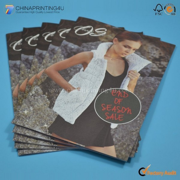 Promotional OEM Colourful Catalog Printing With Cheap Price
