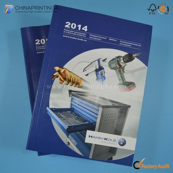 Promotional OEM Full Color Catalog Printing High Quality