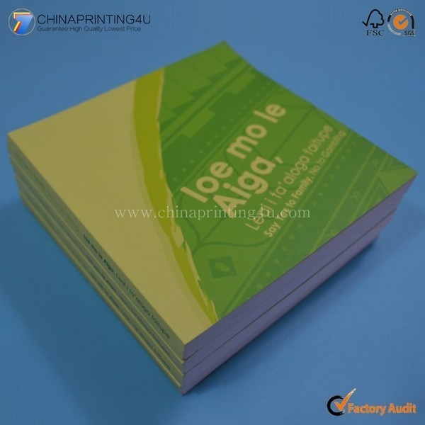 High Quality Cheap Notepad Printing With Low Cost