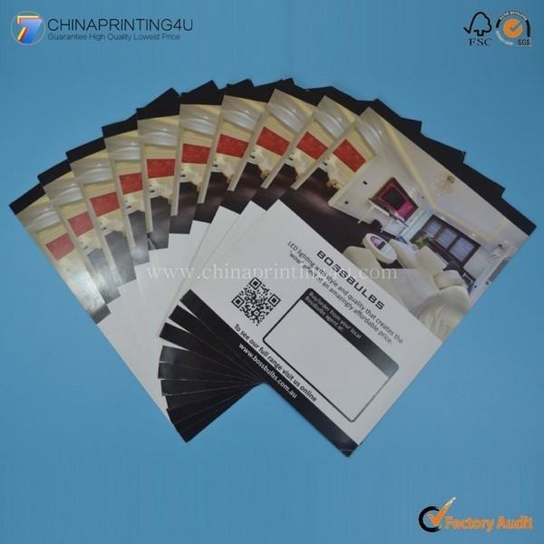 Custom Cheap Price A4 Flyer Printing In China