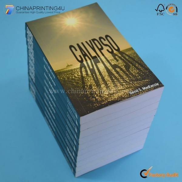 Custom All Size Paper Laminated Cover Book Printing China