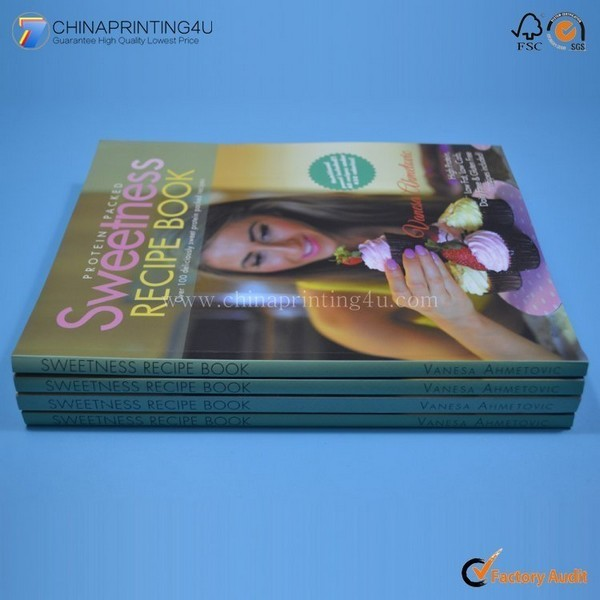 2018 High Quality Cookbook Printing Design Service China