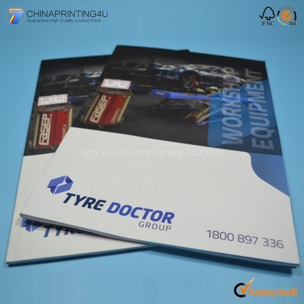 Custom Gloss/Matt Laminated Art Paper Catalog Printing China