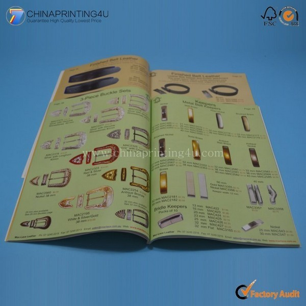 Professional Printing Company Custom Catalog Printing China