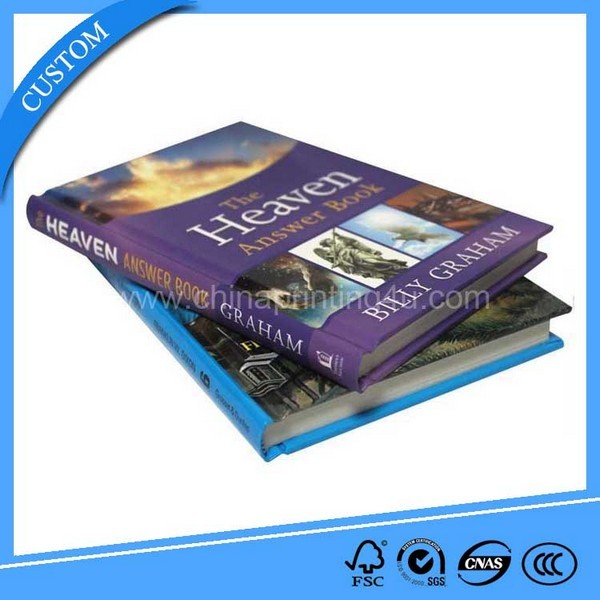 High Quality Hardcover Book Printing Service In China
