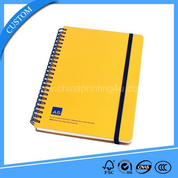 2018 High Quality Spiral Exercise Book Printing