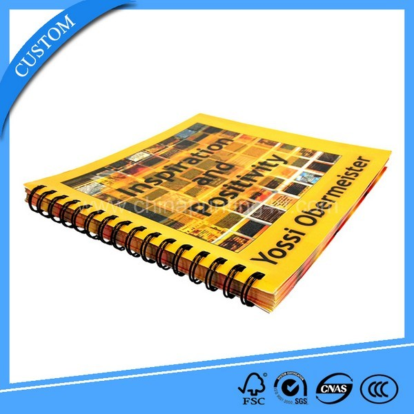 Colorful Custom Printing Spiral Book Printing In China