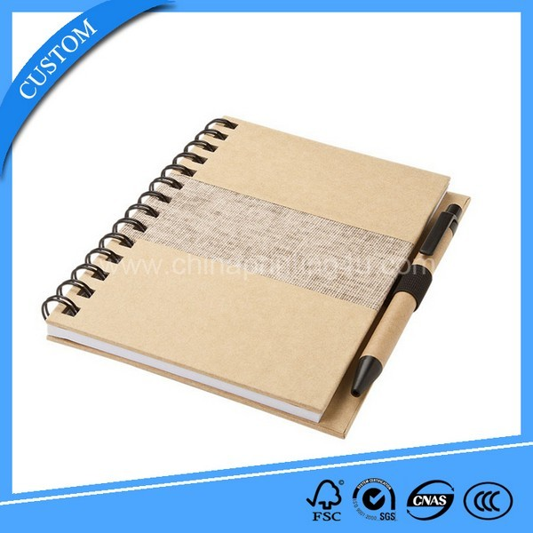 2018 Custom A4 Note Books Spiral Note Printing