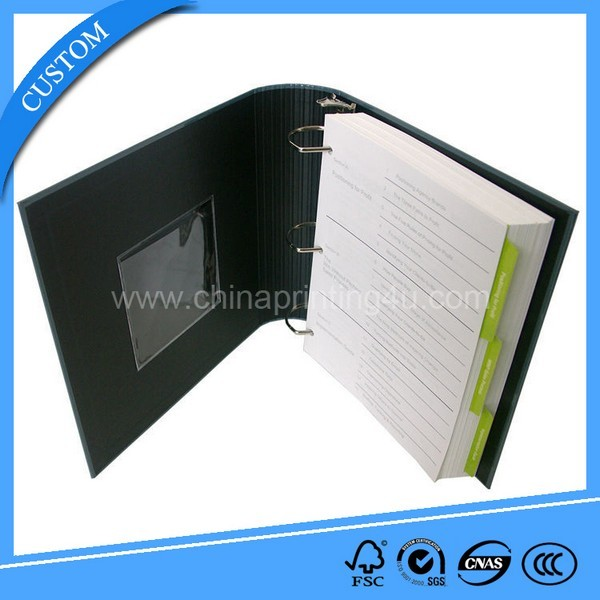Recycleable Paper Spiral Notebook Exercise Book In China
