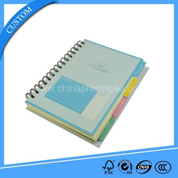 High Quality Cheap Printing Spiral Binding Agenda Notebook
