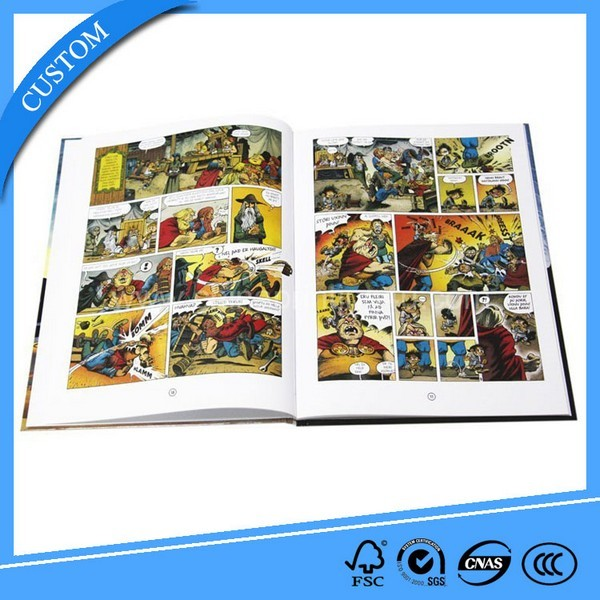 Comic Book For Adults Printing Service In China