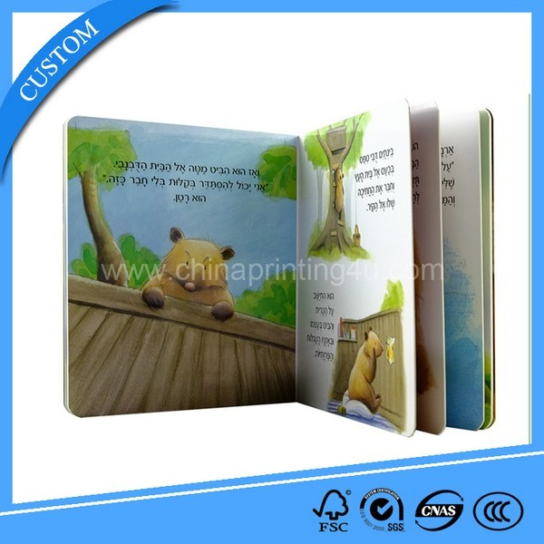 High Quality Custom Board Book Printing China