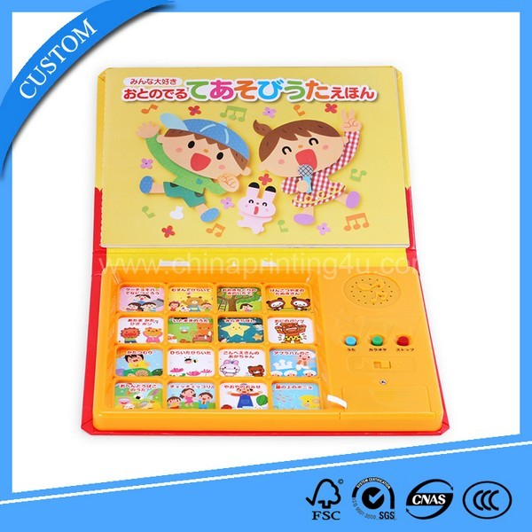 ABS Plastic Cartoon Story Sound Pad Book
