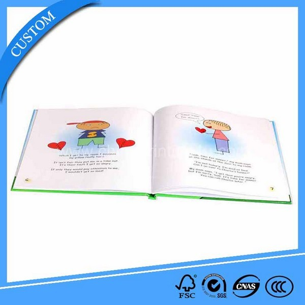 New Design Hardcover English Children Story Book