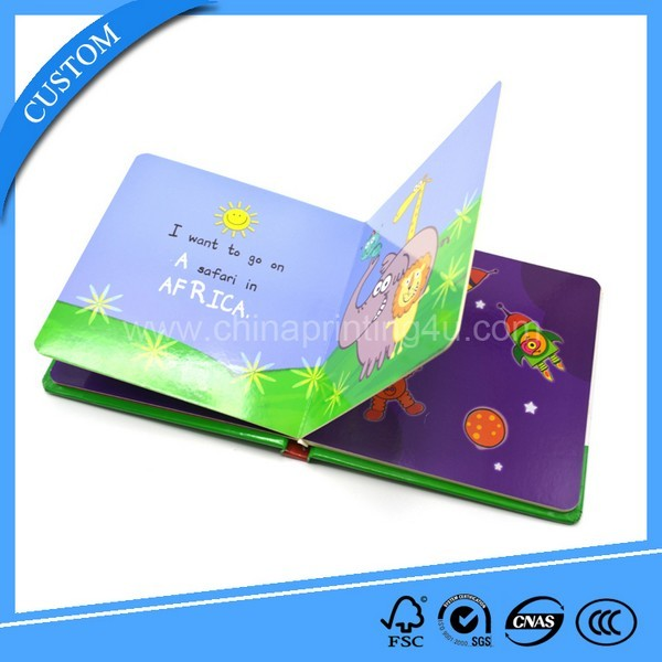 Factory Cheap Custom Coloring Cardboard Book Printing