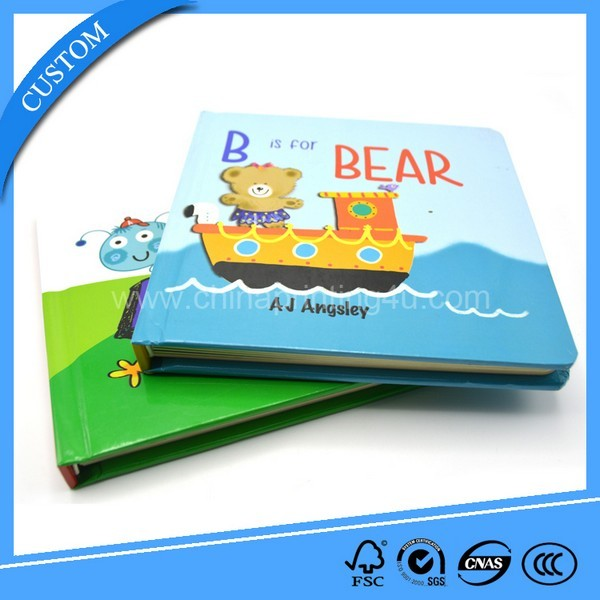 Printing Factory Cheap Custom Coloring Cardboard Book