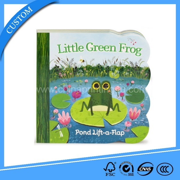 Print Children Flap Board Book With Cheap Price