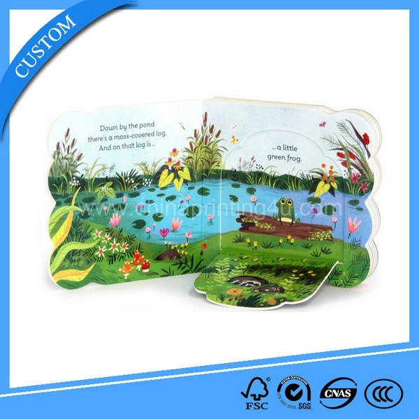 High Quality Printing Children Flap Board Book