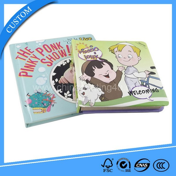 Good Quality Touch And Feel Hardcover English Book