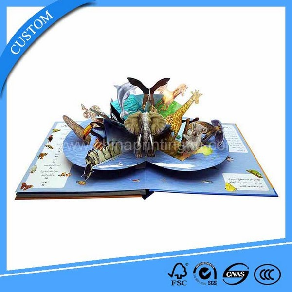 Customized 3d Children Story Book Cartoon Printing