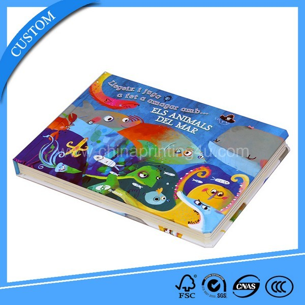 Print Childrens Sound Board Book With Top Quality