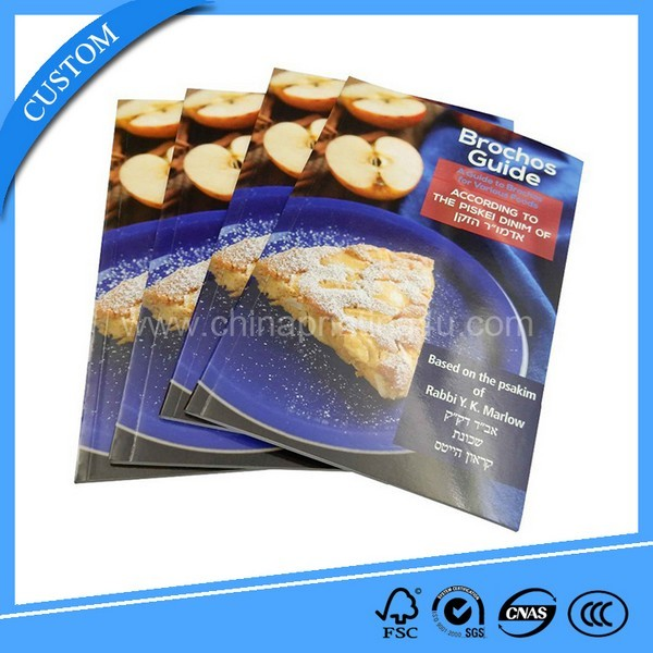 Self Publishing Full Color Hardcover China Cookery