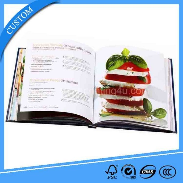 Hardcover Sewing Binding Cheap Pantone Color Cook