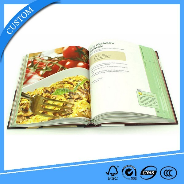 High Quality Printing Cookbook Cheap Cook Book In China